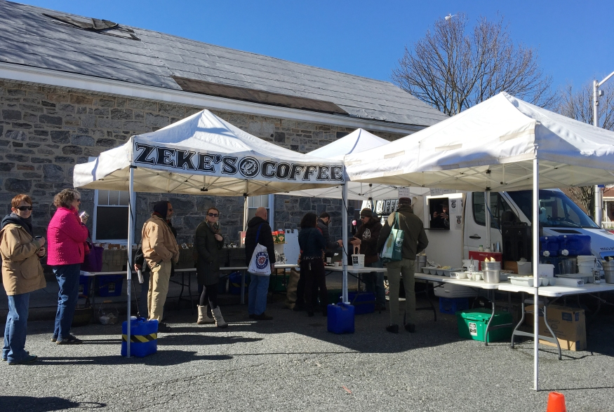Zeke's Coffee is a local, small batch, family-owned roastery located in Baltimore, Maryland
