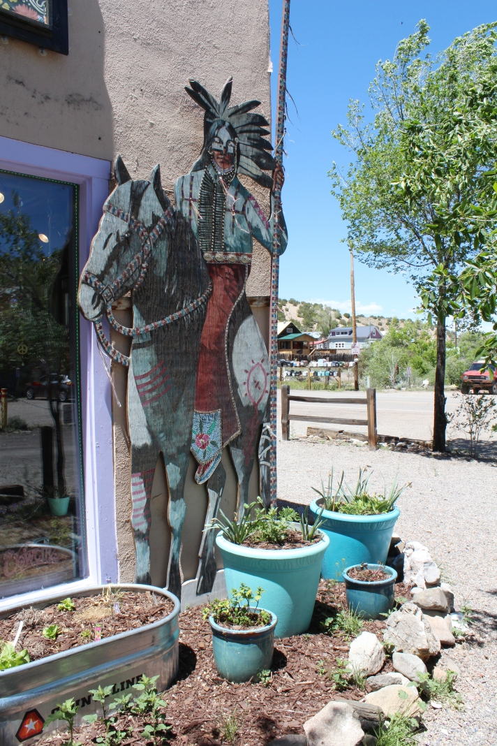 Native art, Madrid, New Mexico