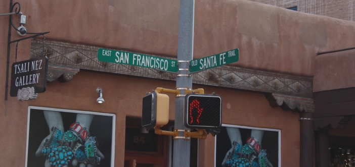 San Fran/Santa Fe street signs