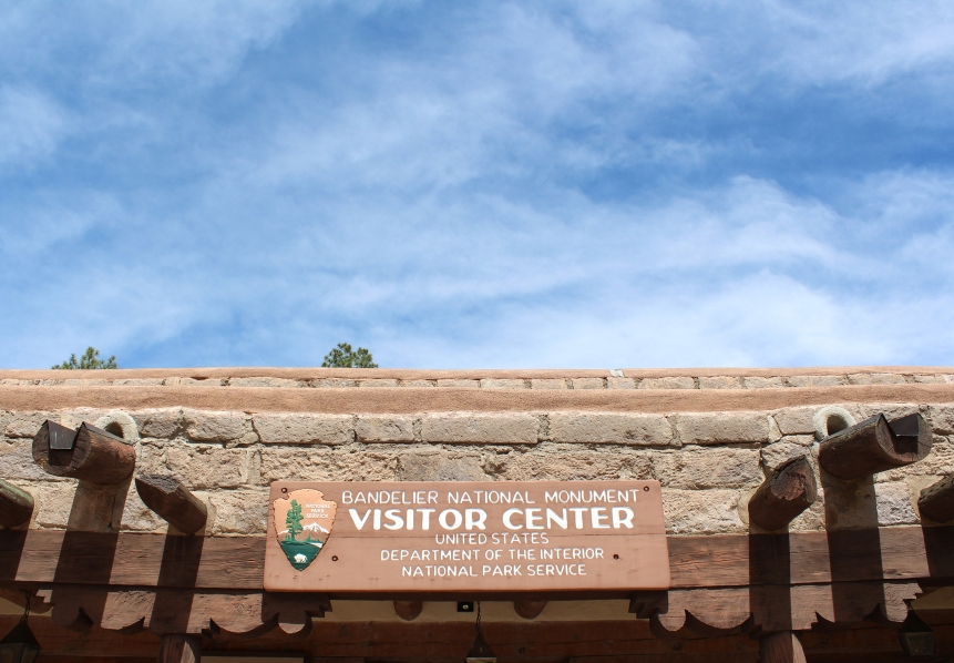 Bandelier National Monument visitor centre