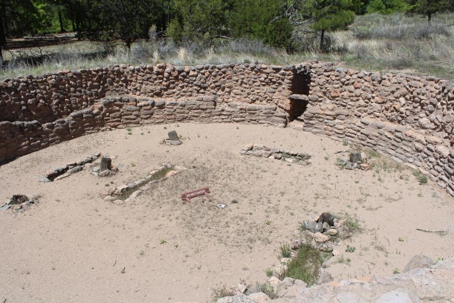 Kiva at Bandelier National Monument