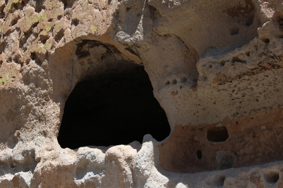 Cave dwelling, Bandelier National Monument, New Mexico