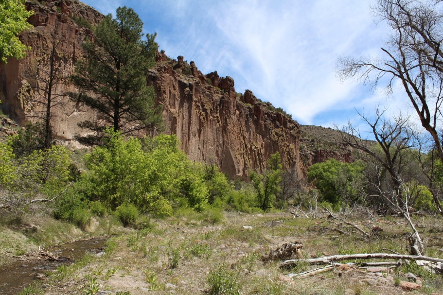 backcountry, Bandelier National Monument, New Mexico