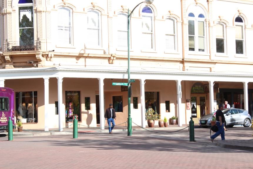The Plaza, Santa Fe, New Mexico