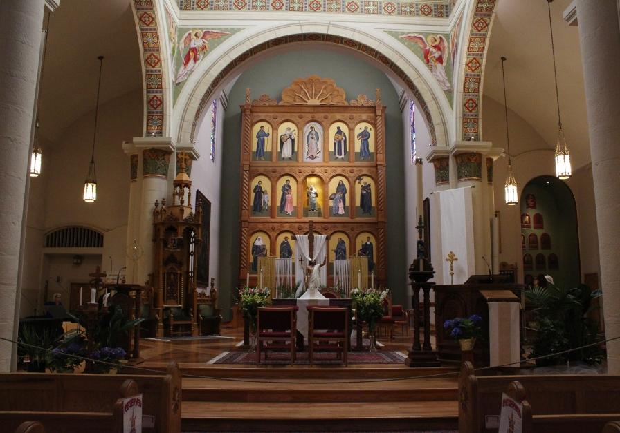 Cathedral Basilica St. Francis of Assisi, Santa Fe, New Mexico