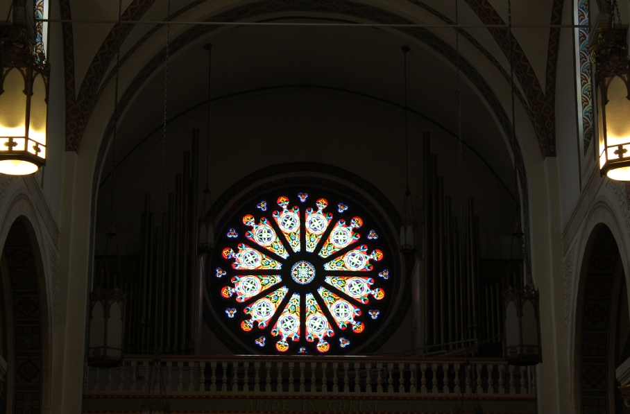 Cathedral stained glass, St. Francis of Assisi, Santa Fe