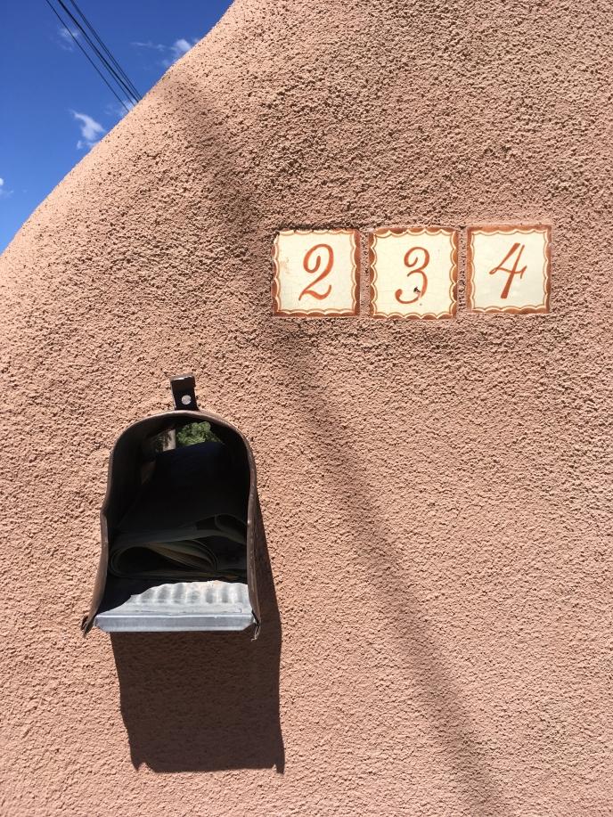 mailbox 234, Santa Fe, New Mexico