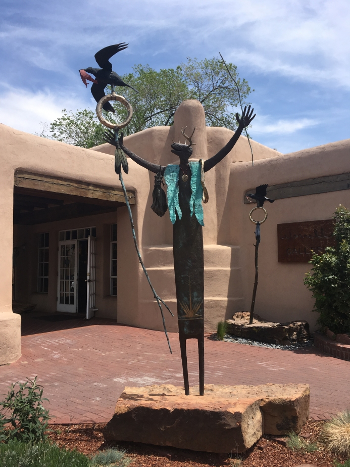 Sculpture, Santa Fe, New Mexico