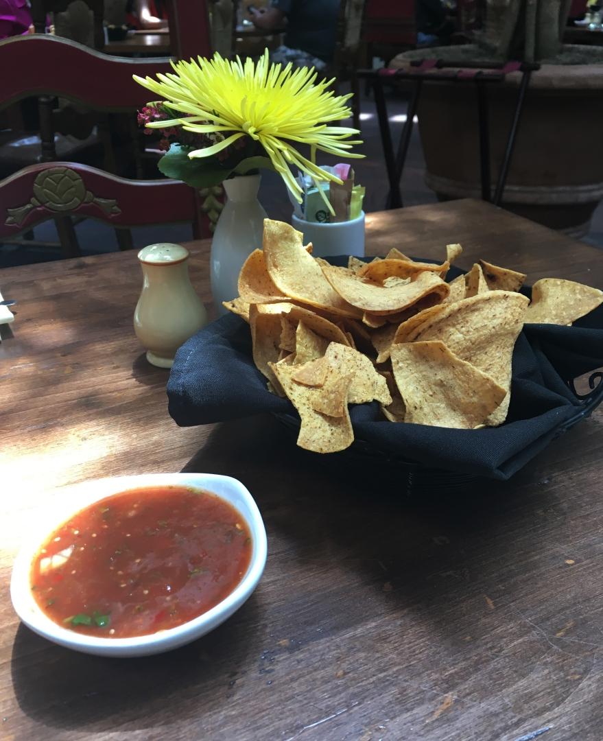 Tortilla Chips and Salta, La Plazeula