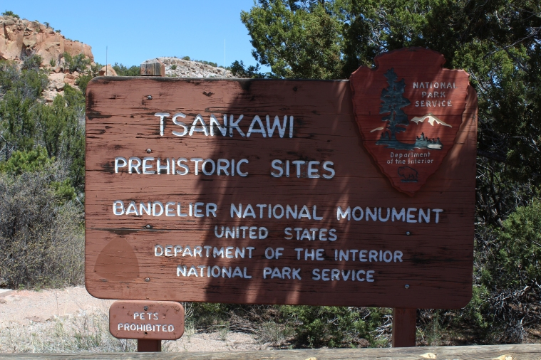 Tsankawi Sign, New Mexico