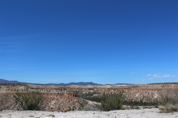 Mesa-top, Tsankawi Village Trail, New Mexico