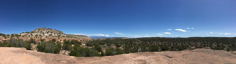 Mesa-top, Tsankawi Village Trail, New Mexico