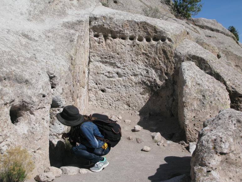 Seeking - Tsankawi, New Mexico